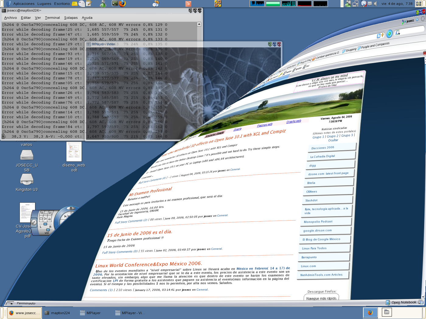 Linux Desktop Pantallazo-1